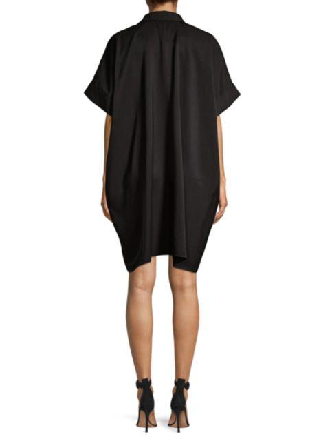 Natori Sanded Twill Caftan Dress   SaksFifthAvenue