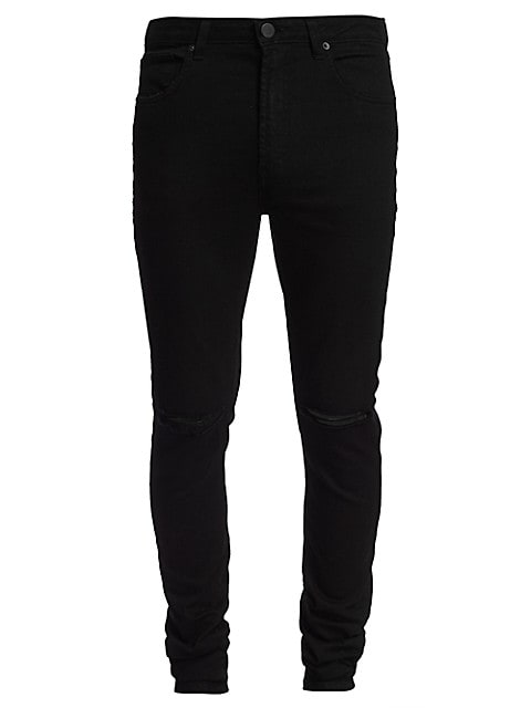 Greyson Skinny-Fit Distressed Jeans