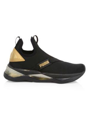 Details about Womens Shoes Cali bold Puma Black Gold Trainer FW 19 20 show original title