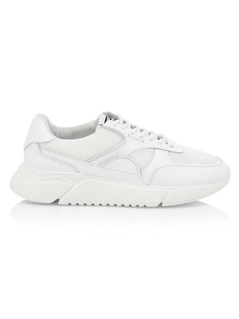 Genesis Mesh Leather Low-Top Sneakers
