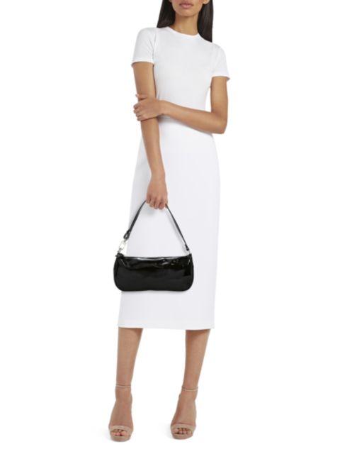 By Far Rachel Patent Leather Shoulder Bag | SaksFifthAvenue