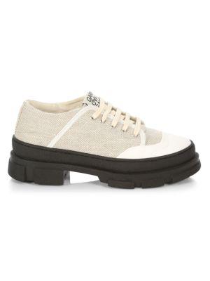 Ganni Sneakers Hybrid Cotton Sneakers