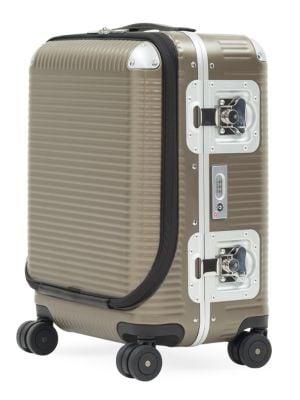 Fpm 53 Bank Light Spinner Cabin Suitcase In Matte Almond