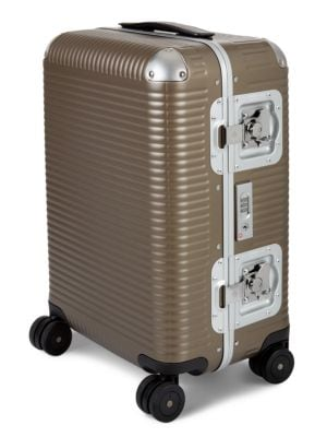 Fpm 55 Bank Light Cabin Spinner Carry-on Suitcase In Matte Almond
