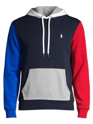 Double Knit Colorblock Hoodie