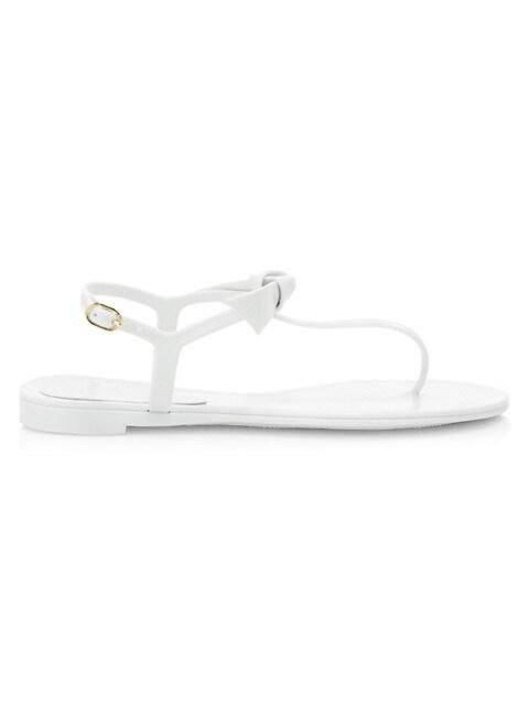 Clarita Bow Jelly Sandals