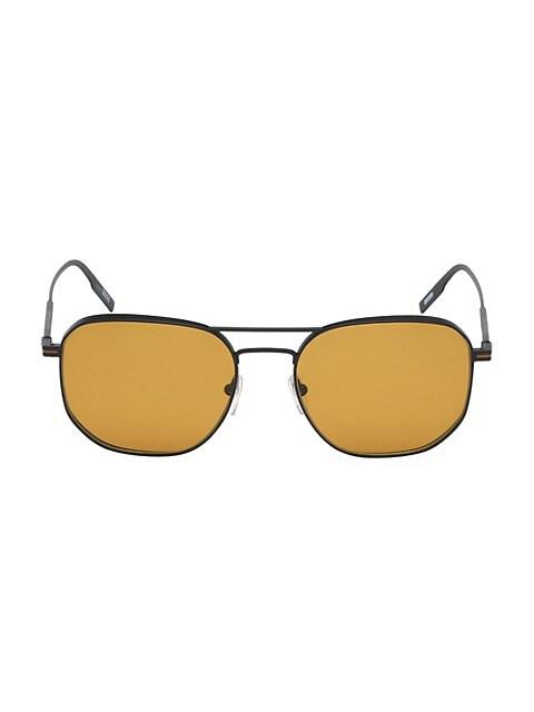 56MM Metal Round Aviator Sunglasses