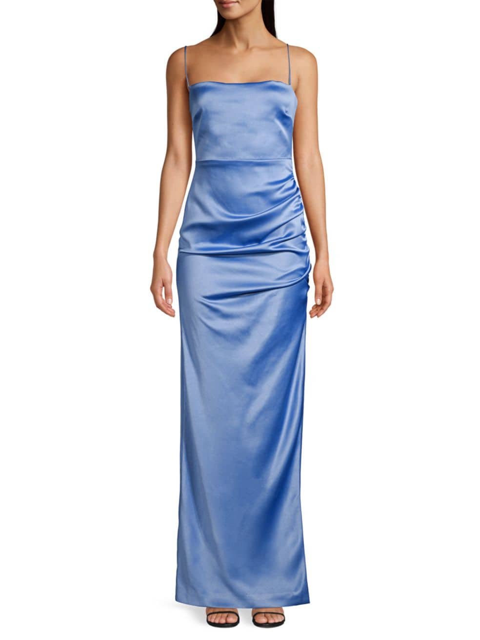 Likely Celida Ruched Satin Gown | SaksFifthAvenue
