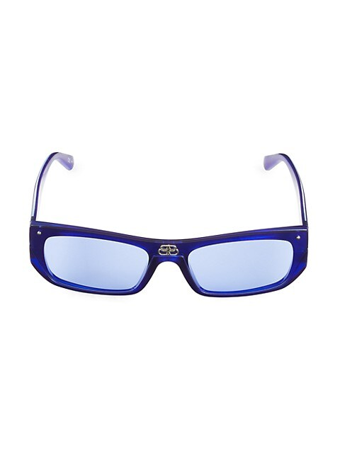 99MM Rectangular Sunglasses