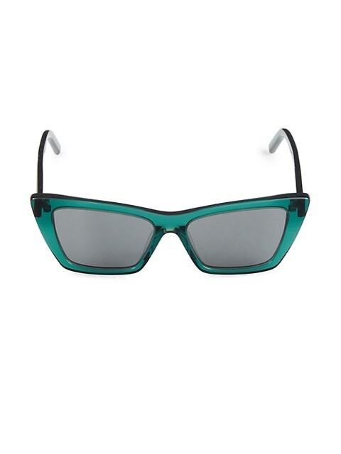 53MM Rectangle Sunglasses