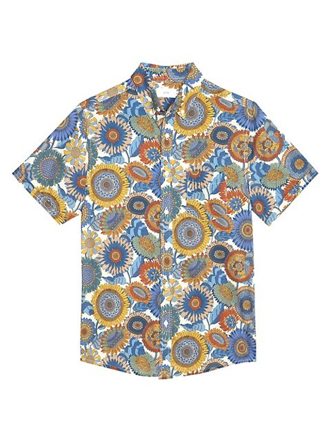 Jack Short-Sleeve Printed Sport Shirt