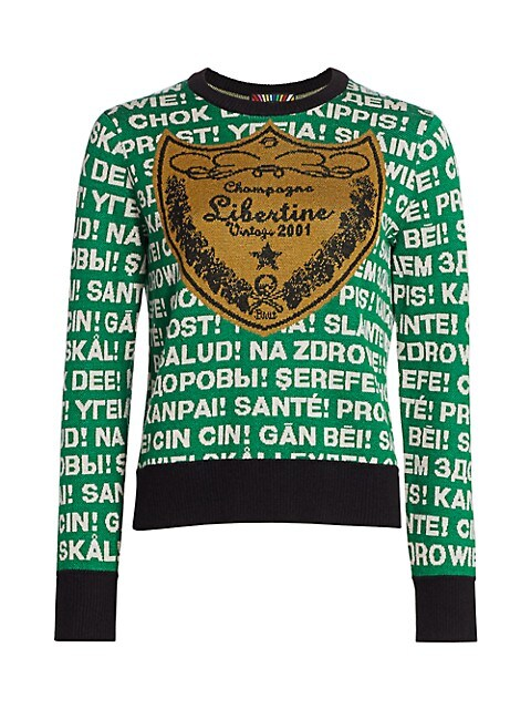 Champagne Cashmere Blend Sweater