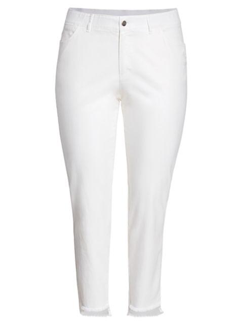 Lafayette 148 New York, Plus Size Mercer Step-Hem Jeans | SaksFifthAvenue