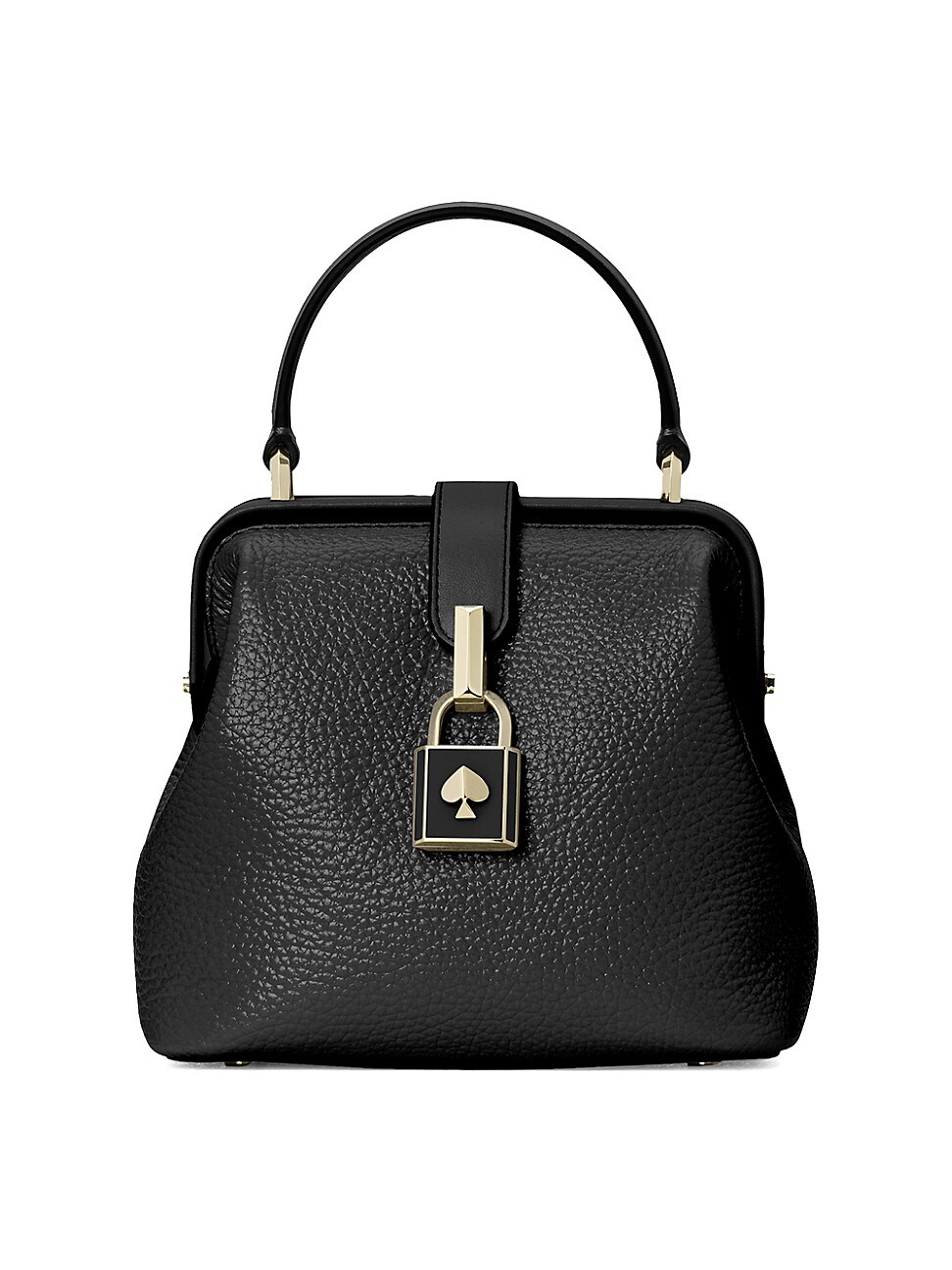 Kate Spade Women's Small Remedy Leather Top Handle Bag In Black