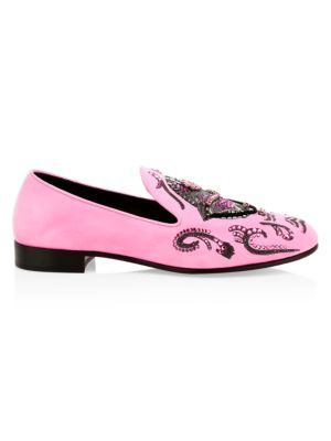Giuseppe Zanotti Giuseppe X Swae Lee Dress Slippers In Pink