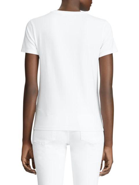Ralph Lauren Collection RL Portrait Graphic T-Shirt | SaksFifthAvenue