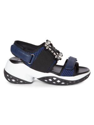 Viv Sport Sandals Run Buckle Strass 8kNn0wOPZX