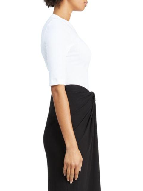 Rosetta Getty Cropped-Sleeve T-Shirt | SaksFifthAvenue