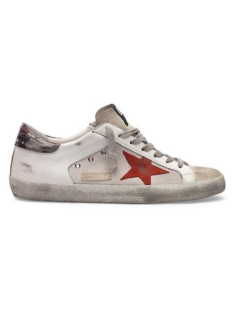Men's Superstar Leather Sneakers