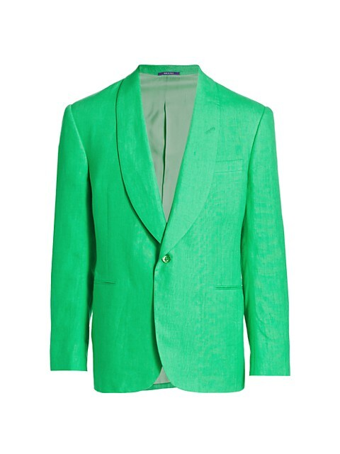Shawl Collar Linen Sportcoat