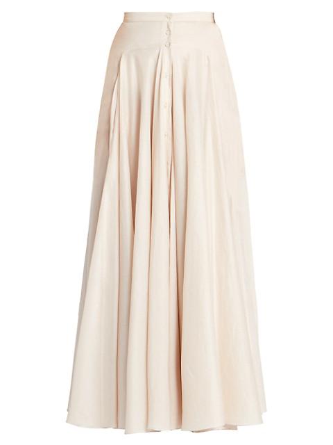 Cotton Muslin Maxi Skirt