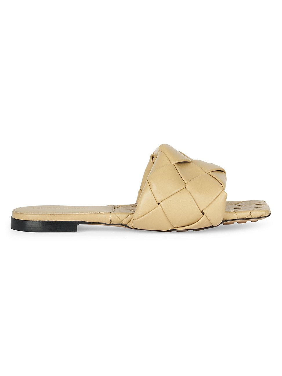 Bottega Veneta WOMEN'S LIDO FLAT LEATHER SANDALS