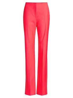 Rag & Bone Straight pants Jess Slim-Fit Straight-Leg Twill Pants
