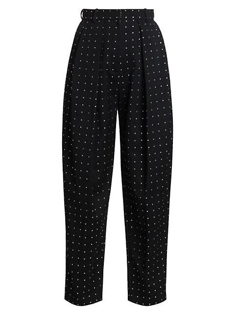 Shaldon Swarovski Crystal Studded Pants