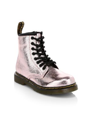 Save Up To 70% Kids Dr Martens 1460 Glitter Lace Up Boots