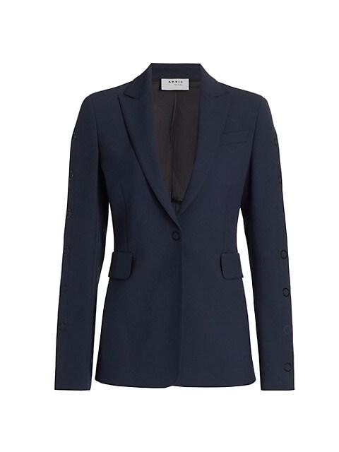Side Press-Button Jacket