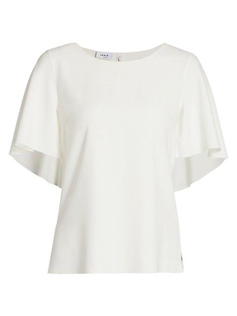 Cape-Sleeve T-Shirt