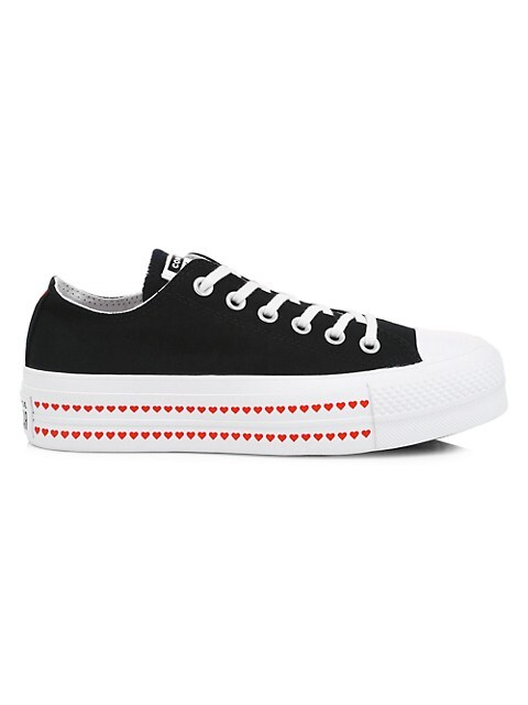 su Caliza préstamo  Converse Love Fearlessly Chuck Taylor All Star Lift Love Low-Top Sneakers |  SaksFifthAvenue