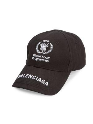 Balenciaga World Food Programme X Balenciaga Baseball Cap Saks Com