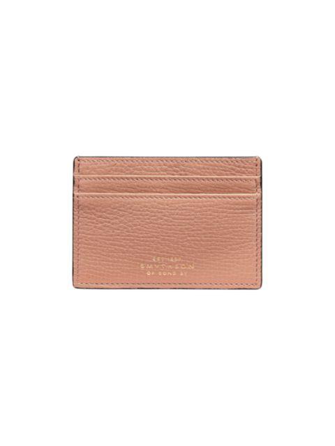 Smythson Ludlow Large Grain Leather Flat Card Holder | SaksFifthAvenue