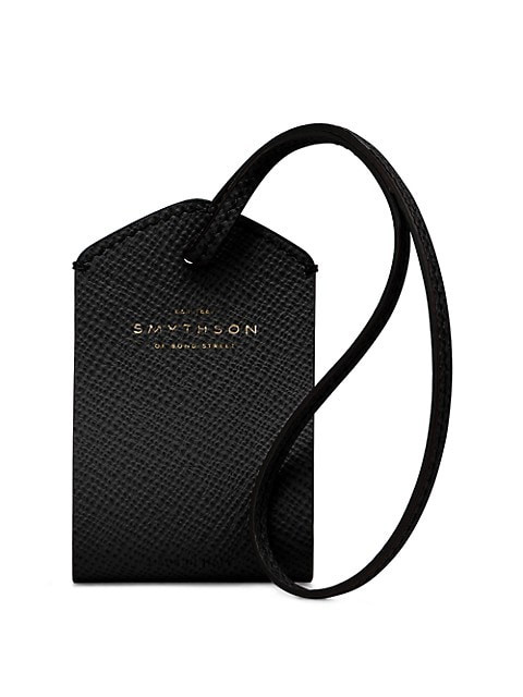 Panama Leather Personalization Tag