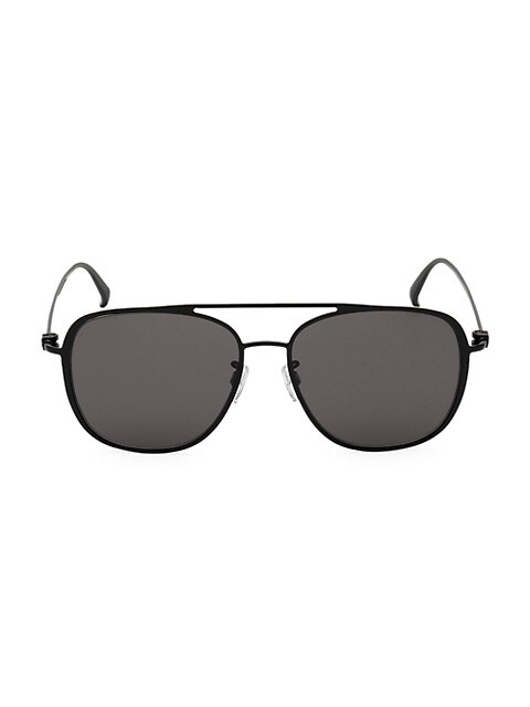 58MM Metal Square Sunglasses