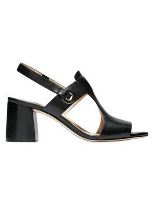 Womens Cole Haan Original Grand Braid II Sandal Black Sizes 8 /& 10.5 Gold Accent