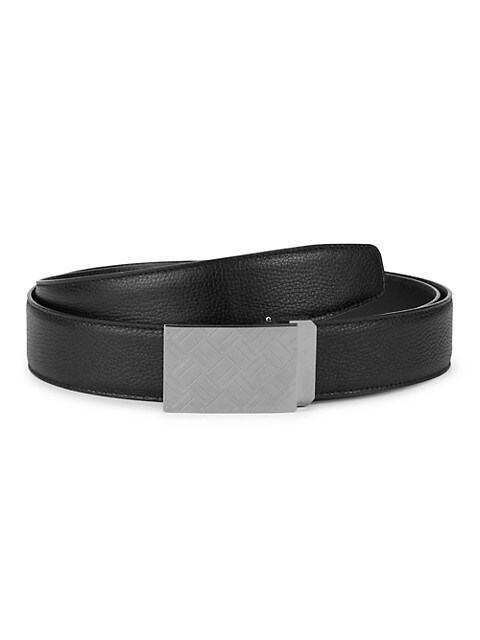 Abstract Leather Belt