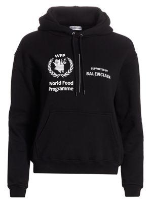 Balenciaga World Food Programme Hoodie Saks Com