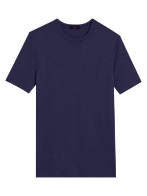 Theory Men's Topstitching Jersey T-shirt In Eclipse Multi