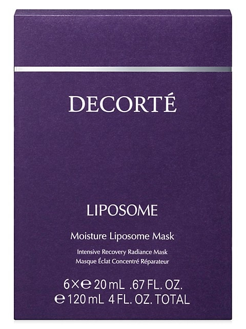 Liposome Moisture 6-Piece Intensive Recovery Radiance Mask Set