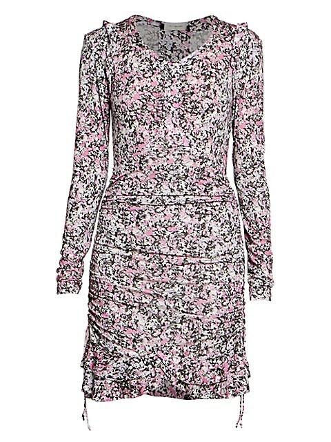 Sabia Printed Jersey Dress