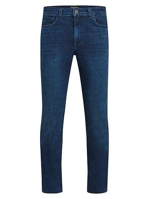 Deniro Slim Straight-Leg Jeans