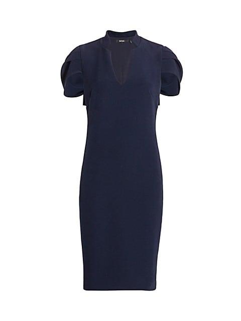 Woven Cape Dress