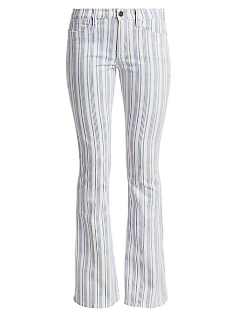 Le High Flare Surfer Stripe Jeans