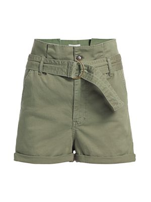 Frame Shorts Safari Belted Shorts
