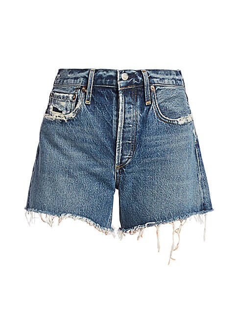 "Women//Junior/'s NEW HUDSON /""Libertine/"" DENIM JEAN  Boyfriend Fray Hem Short"