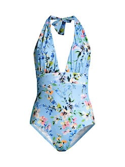 Mitiy Two Piece Toddler Swimwear Bathing Suit,Baby Girls Floral Swimsuit,Off-The-Shoulder Sling Swimsuit