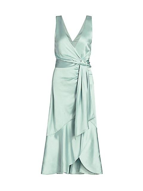 Mia Fluid Satin Dress
