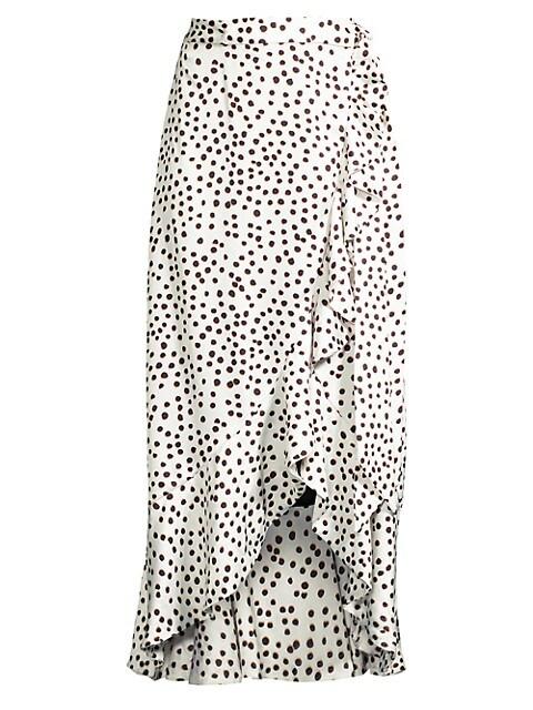 Masai Ruffle Wrap Skirt